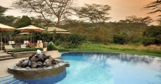 Serena Camp, in Kenya, offers glorious vistas