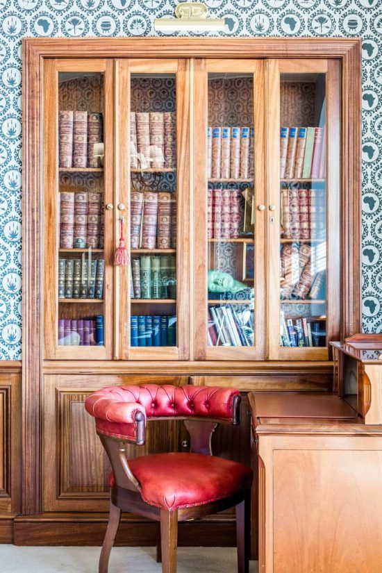 Ellerman House has its own library.