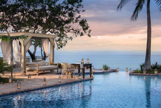 The view from Bumi Hills Safari Lodge Pool