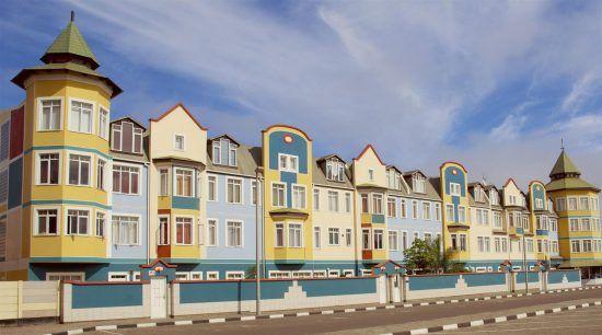 La influencia europea se hace notar en la arquitectura local
