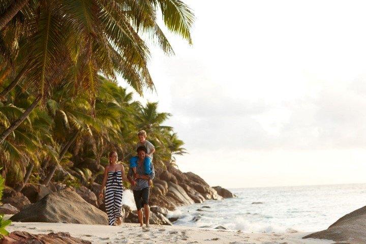 Auf den Seychellen sind Kinder herzlich willkommen und es gibt viele familienfreundliche Aktivitäten
