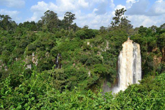 Thomson Falls in Kenia
