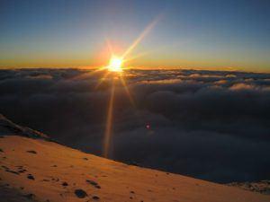 Sonnenaufgang über Tansania