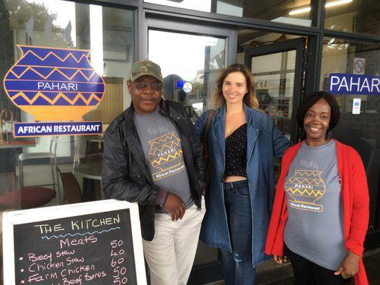 Visita da Rhino Africa ao restaurante Pahari, Cidade do Cabo
