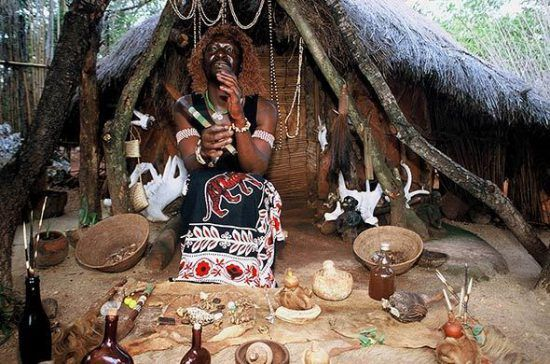 Traditional Shangaan Sangoma in Kruger National Park in Rhino Africa's Complete Guide