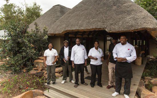 Equipe do Camp Ndlovu, Waterberg, Limpopo