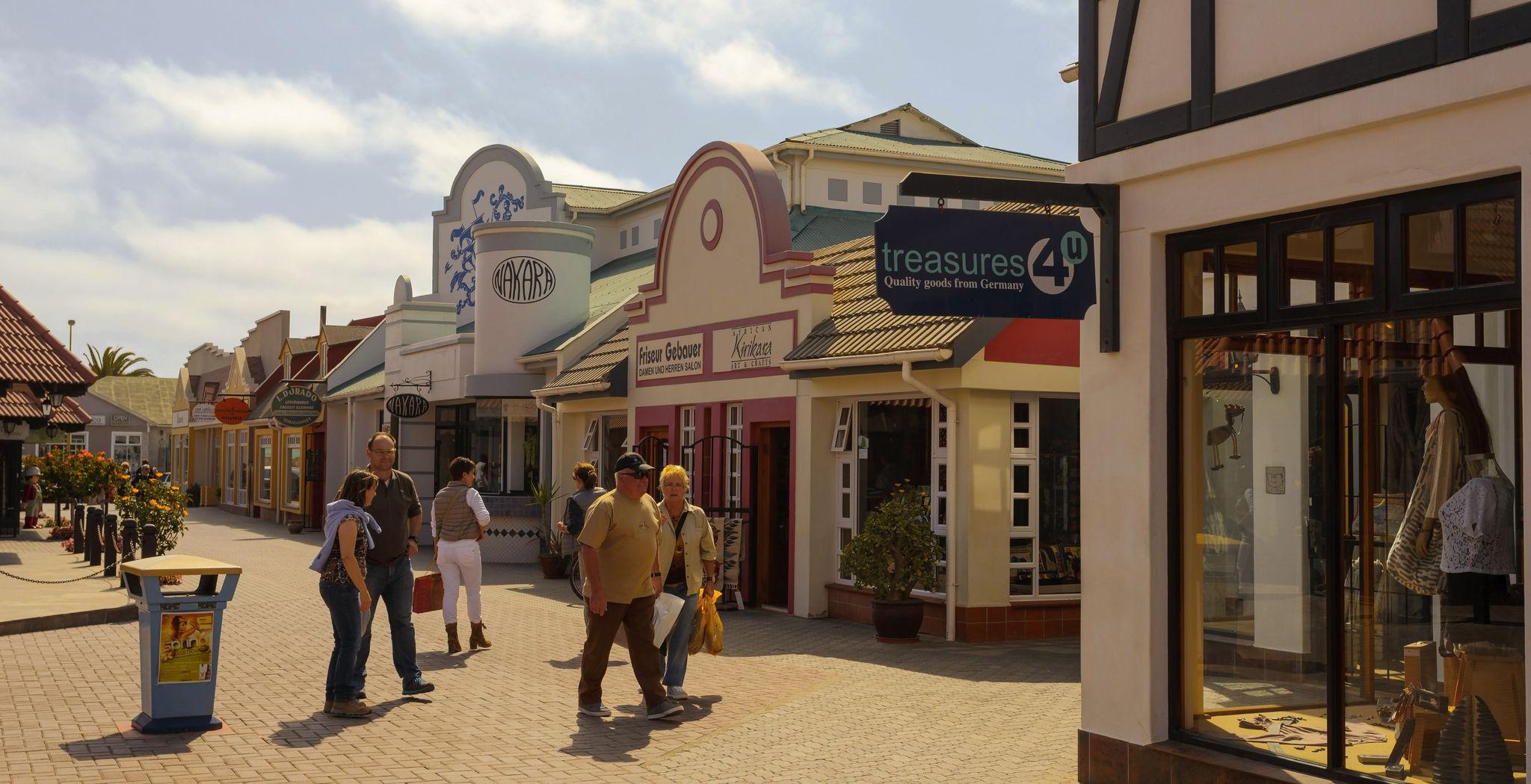 Kleine Geschäfte in Swakopmund