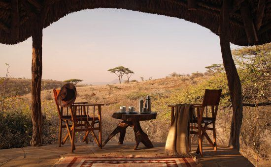 Lewa Safari Camp is where Prince William popped the the question to Kate, making this camp one of the Royal Family's favourite places to stay in Africa