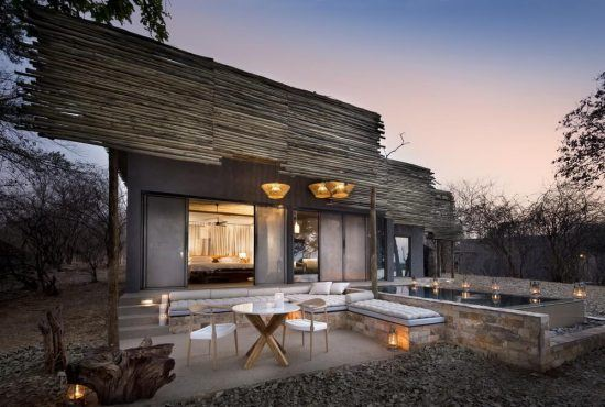 Matetsi River Lodge and House is on the andBeyond property portfolio