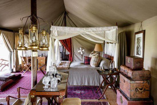 Ouça o som da África a partir de sua tenda em Sabora Tented Camp