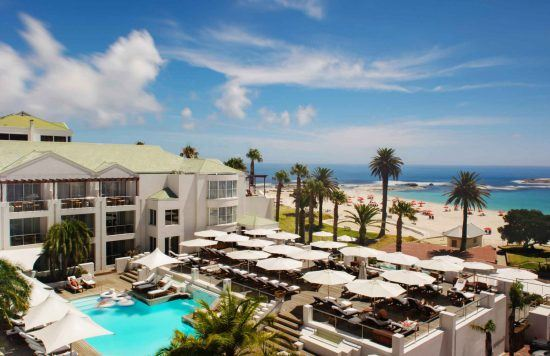 The Bay Hotel in Cape Town is also one of the Royal Family's favourite places to stay in Africa