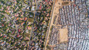 Différence entre les townships et les quartiers riches du Cap