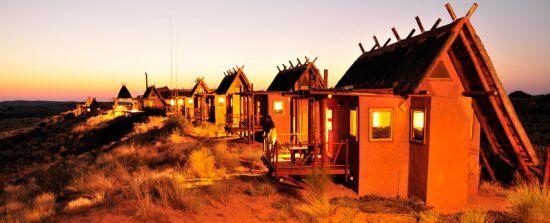 Last light at !Xaus Lodge in Kgalagadi Transfrontier Park