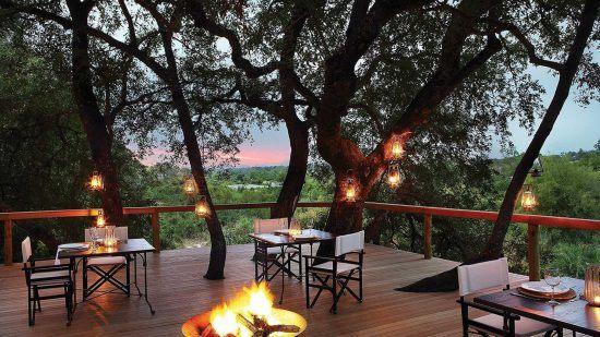 Londozi Treecamp é um dos 5 acampamentos da Reserva de Animais Londolozi