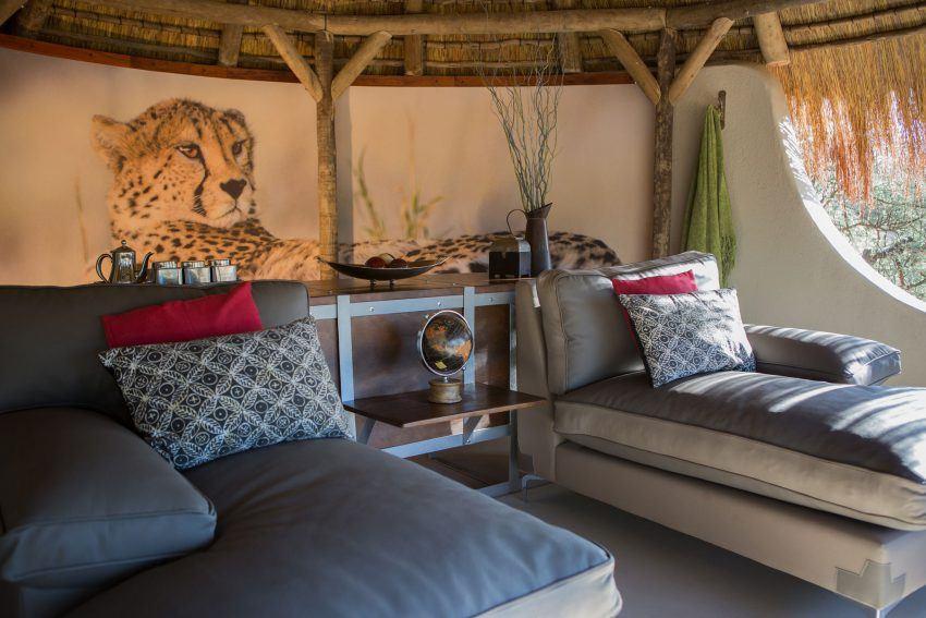 Entspannung am Tag im Okonjima Luxury Bush Camp