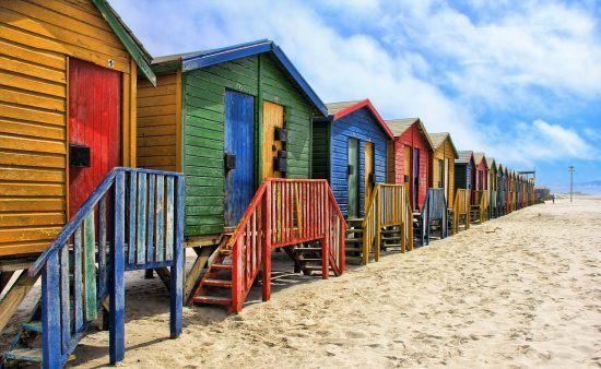 Las casetas de playa de Muizenberg, foto obligatoria
