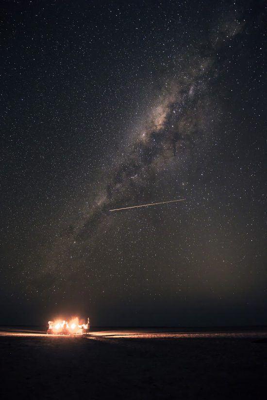 Incredible stars visible at Chitwa Chitwa in Kruger National Park