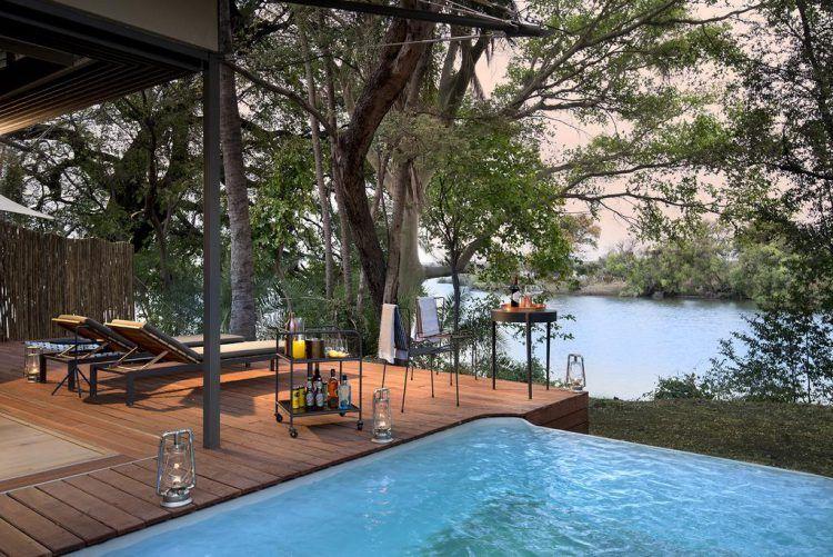 Thorntree River Lodge en Zambie, offre safari d'African Bush Camp