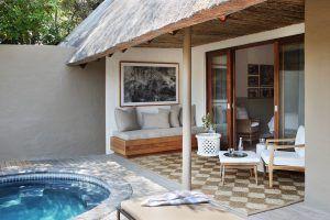 Une des nouvelles suites de Londolozi Varty Camp