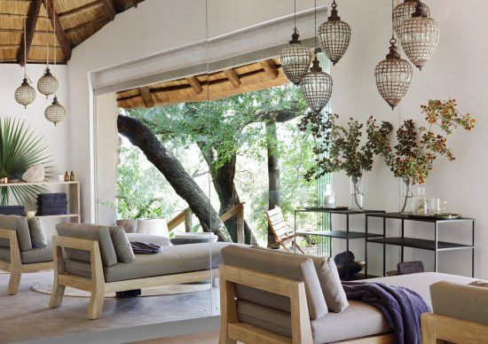 Chambre de soin de la Healing House de Londolozi