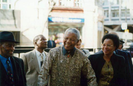 O inesquecível sorriso de Nelson Mandela