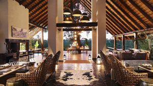 Lodge principal de Londolozi Varty Camp