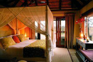 Luxury accommodation is offered by Kambaku Safari Lodge luxury African safari