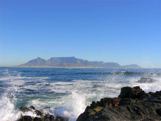 Um dos melhores lugares para contemplar a Table Mountain, Table View