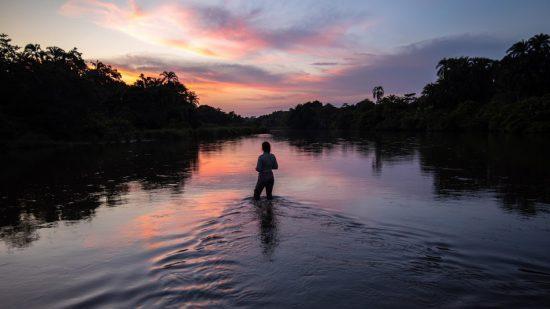 El río Congo ofrece infinitas posibilidades para explorarlo.