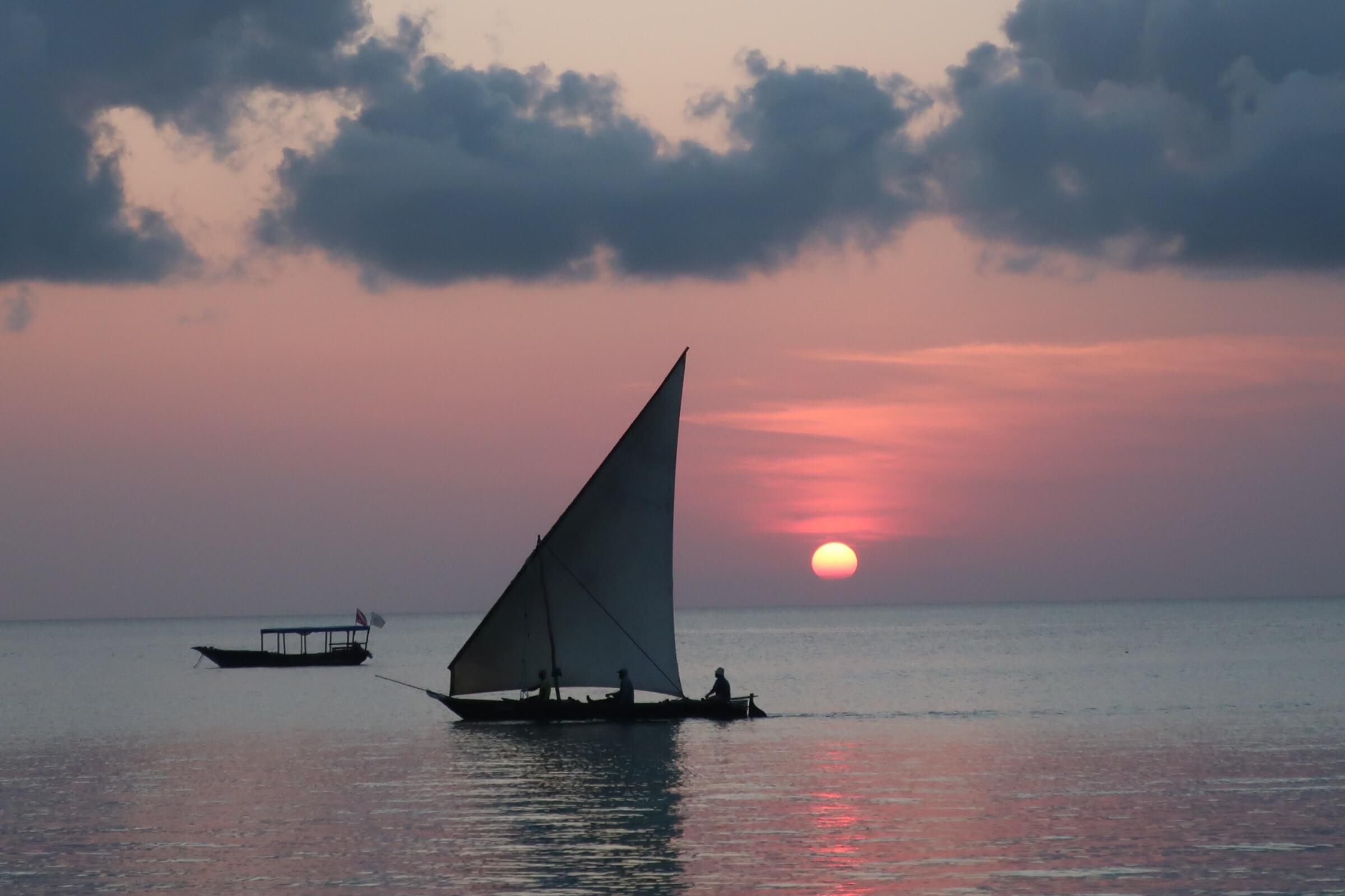 O final perfeito para um dia no romântico Zanzibar