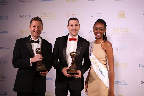 Stolze Gewinner bei den World Travel Awards