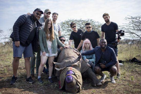 Rhino Africa auf Nashorn-Expedition