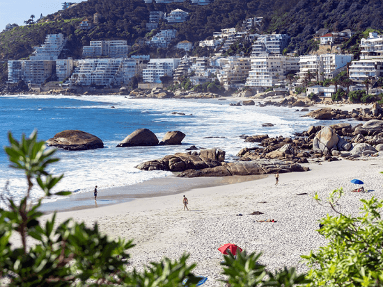 Clifton, uma das praias queridinhas da Cidade do Cabo