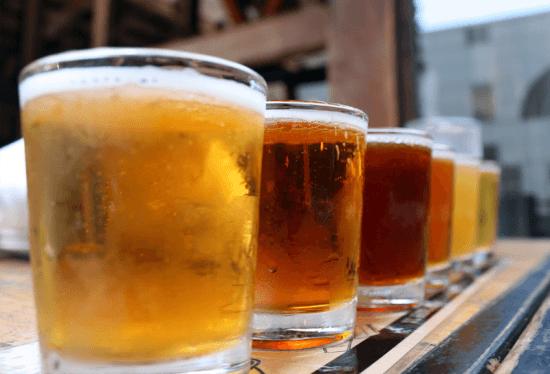 O que não falta em Woodstock são lugares para degustação de cervejas