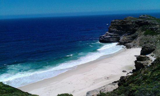 Der versteckte Strand Diaz Beach beim Kap der Guten Hoffnung