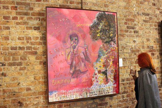 """Exibição """"The New African"""" no Youngblood Arts and Culture Development destaca o trabalho de Bule Nkalashe"""