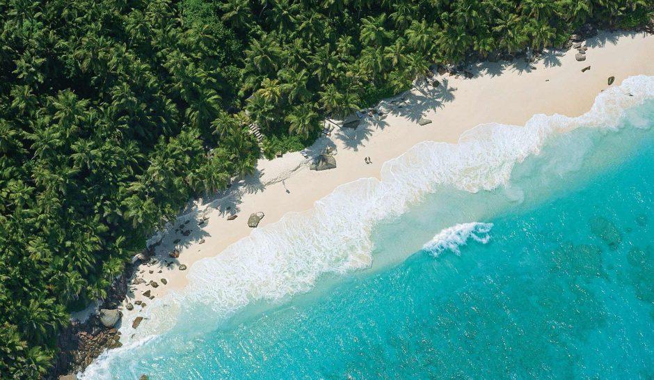 Ein traumhafter Strand am Indischen Ozean