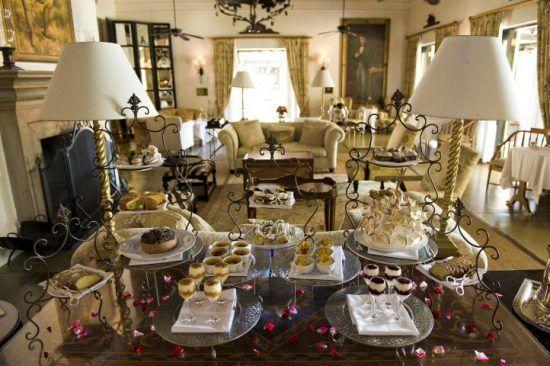 High Tea im eleganten The Royal Livingstone