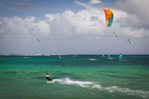 vacances à l'île maurice : kitesurf, windsurf