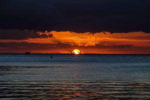 séjour romantique à l'île maurice : coucher de soleil
