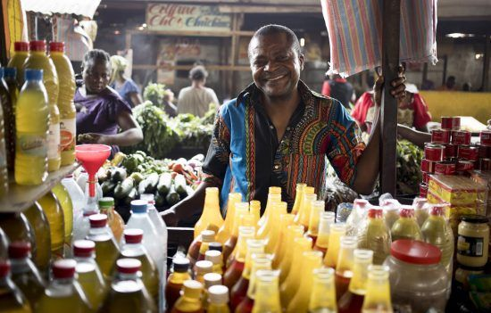 Voyage au Congo-Brazzaville | Le marché Total à Brazzaville