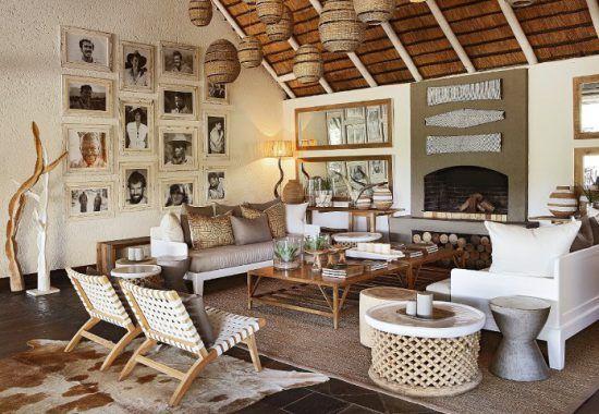 Campements du Parc Kruger | Au mur du Founders Camp, les photos des personnalités ayant séjourné à Londolozi