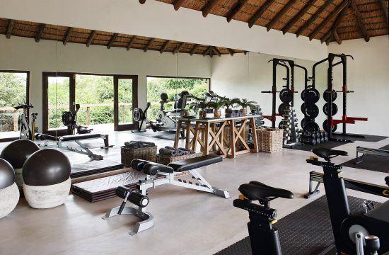 Campements du Parc Kruger | Salle de sport de Londolozi