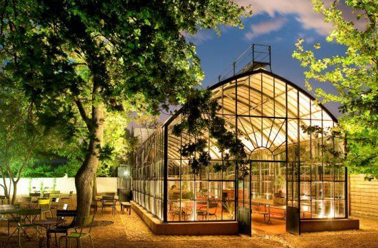 Das Restaurant The Greenhouse auf der Weinfarm Babylonstoren