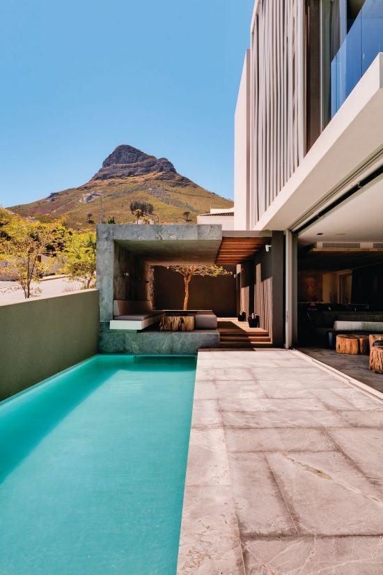 Quartiers Cape Town | Vue extérieur du très design POD Boutique Hotel