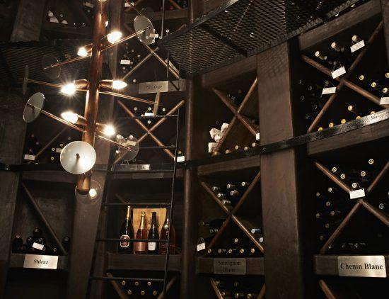 Der Weinkeller der Singita Lebombo Lodge