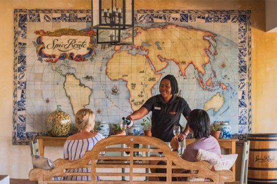 Vins d'Afrique du Sud | Dégustation au domaine de Spice Route