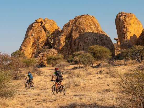 Riders traverse the Tour de Tuli route