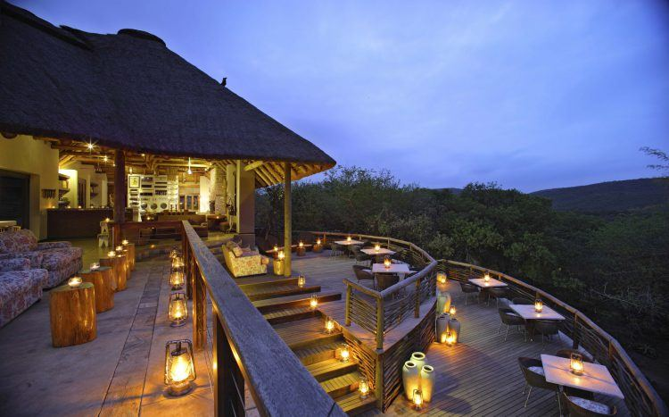 &Beyond Phinda Mountain Lodge at Phinda Private Game Reserve in KwaZulu-Natal