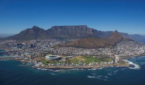 Kapstadt von oben - Reisen Sie nach Afrika